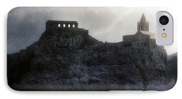 Church In Storm IPhone Case by Joana Kruse