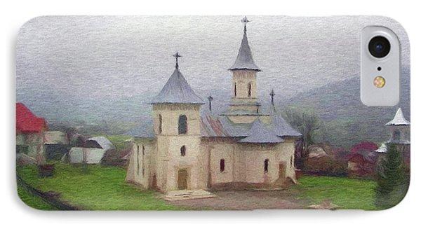 Church In The Mist Phone Case by Jeff Kolker