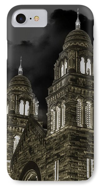Church Lights On St. Peter Cathedral Phone Case by Optical Playground By MP Ray