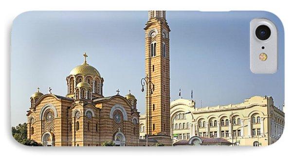 Church Of Jesus The Saviour Phone Case by Ladi  Kirn