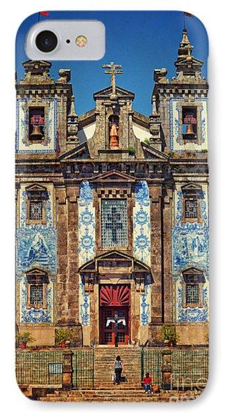 Church Of Saint Ildefonso - Porto IPhone Case
