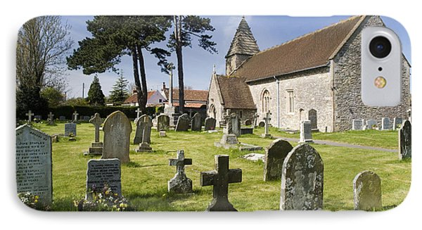 Church Of St John The Evangelist - Kenn - North Somerset Phone Case by Rachel Down