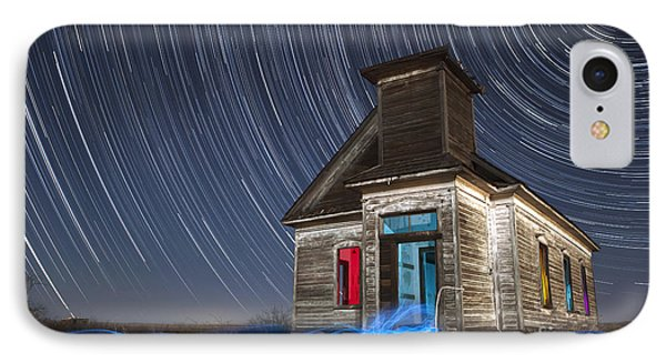 Church Of Taiban IPhone Case by Keith Kapple