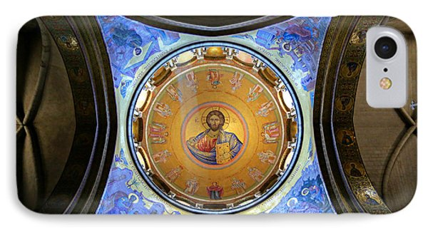 Church Of The Holy Sepulchre Catholicon IPhone Case by Stephen Stookey
