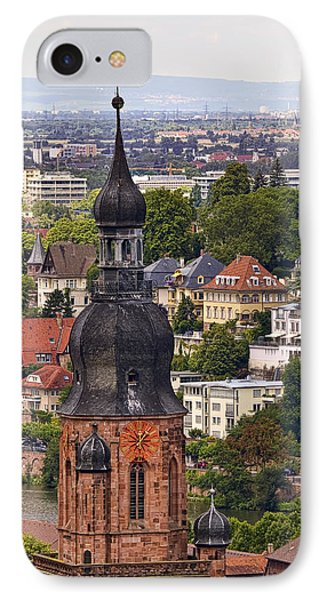 Church Of The Holy Spirit Steeple Phone Case by Marcia Colelli