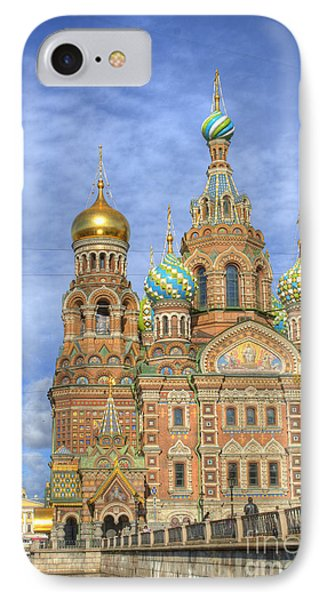 Church Of The Saviour On Spilled Blood. St. Petersburg. Russia Phone Case by Juli Scalzi