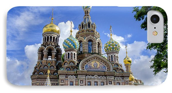Church Of The Spilled Blood - St Petersburg Russia IPhone Case by Jon Berghoff
