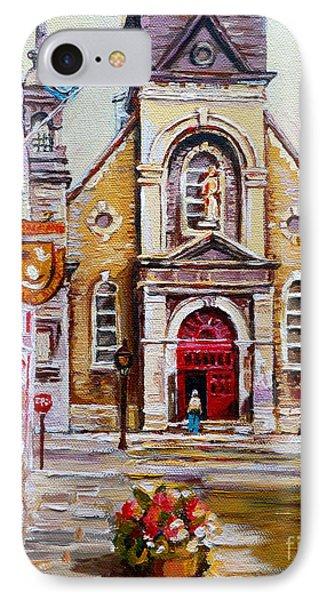 Church On Sunday Phone Case by Carole Spandau