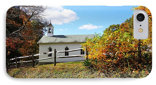 Church On The Mountain Phone Case by Thomas R Fletcher