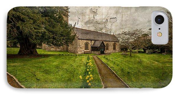 Church Path IPhone Case by Adrian Evans