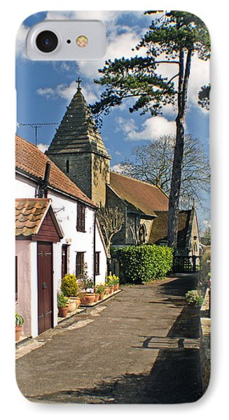 Church Path - Kenn - Somerset Phone Case by Rachel Down