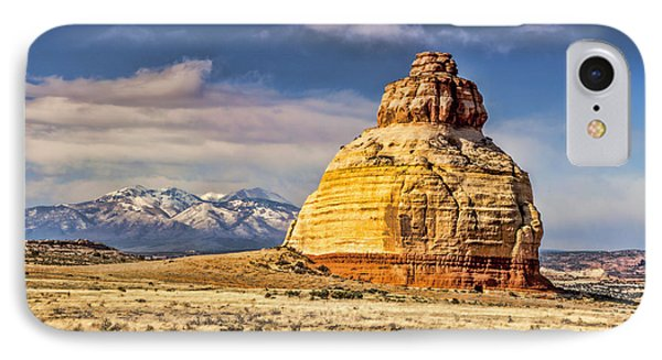 IPhone Case featuring the photograph Church Rock by Daniel Hebard