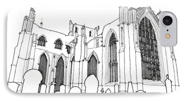 Church Ruins IPhone Case