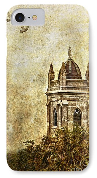 IPhone Case featuring the photograph Church Steeple by Linda Blair