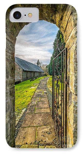 Church Way Phone Case by Adrian Evans