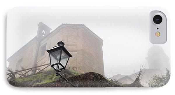 Churches In The Fog IPhone Case
