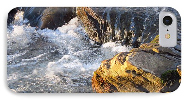 Churning Little Waterfalls On The Watauga IPhone Case
