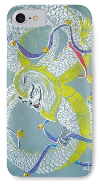 Chu's Dance Of 12 Bells IPhone Case by Wendy Coulson
