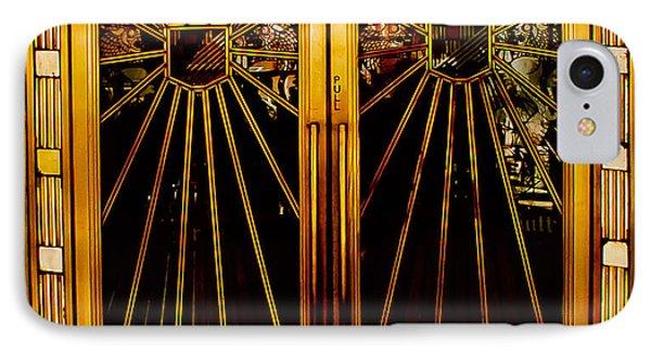 Cicada Club Doors IPhone Case by Joseph Hollingsworth