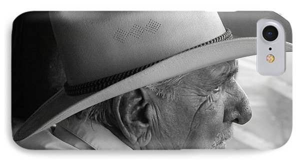 Cigar Maker Remembering His Past Phone Case by Rene Triay Photography