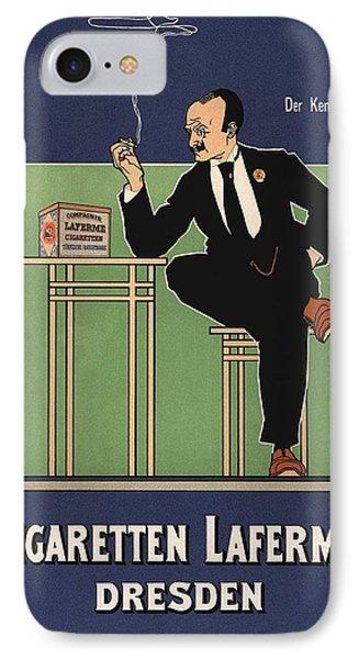 Cigaretten Laferme Dresden IPhone Case