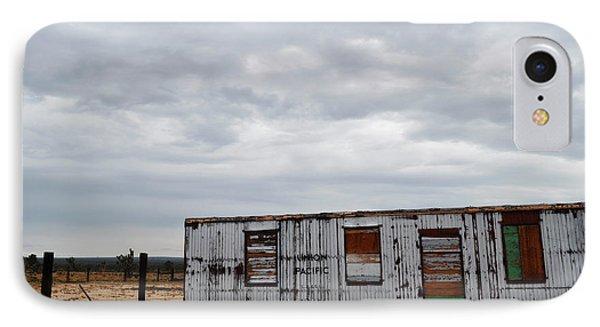 Cima Union Pacific Railroad Station IPhone Case by Kyle Hanson