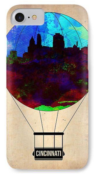 Cincinnati Air Baloon IPhone Case by Naxart Studio