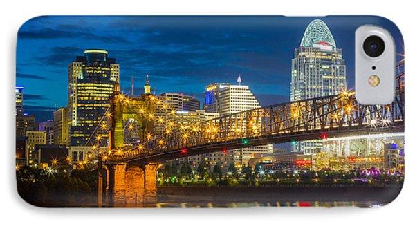 Cincinnati Downtown IPhone Case
