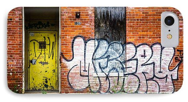 Cincinnati Glencoe Auburn Place Graffiti Picture Phone Case by Paul Velgos