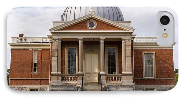 Cincinnati Observatory In Cincinnati Ohio Phone Case by Paul Velgos
