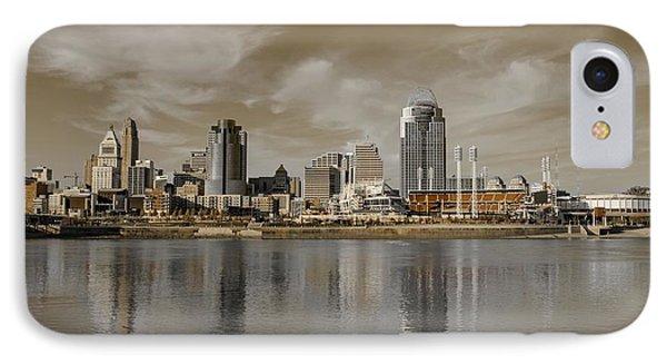 Cincinnati Riverfront IPhone Case