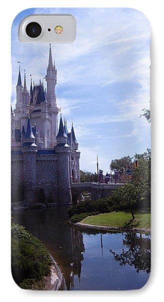 Cinderella Castle Phone Case by Roger Wedegis