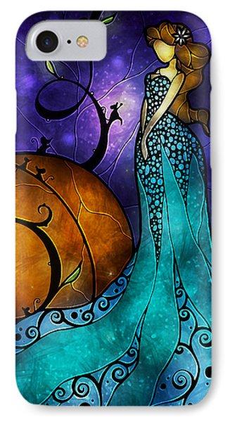 Cinderella Phone Case by Mandie Manzano