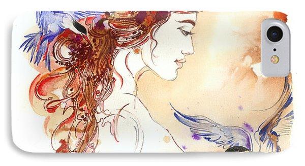 Cinderella Story IPhone Case by Anna Ewa Miarczynska