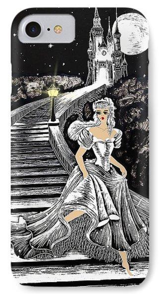 Cinderella IPhone Case by Svetlana Sewell