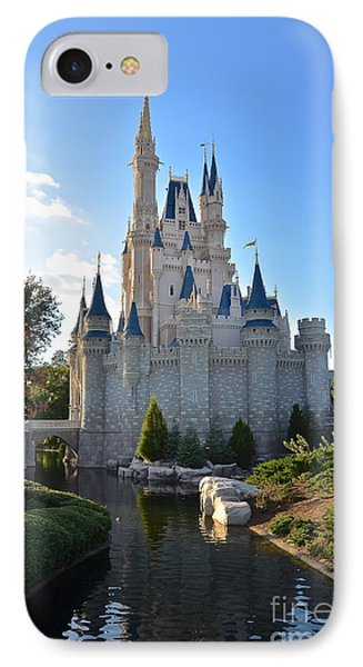 Cinderella's Castle IPhone Case by Carol  Bradley