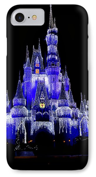 Cinderella's Castle IPhone Case by Laurie Perry
