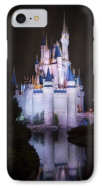 Cinderella's Castle Reflection IPhone Case