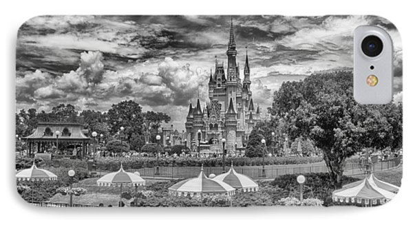 IPhone Case featuring the photograph Cinderella's Palace by Howard Salmon
