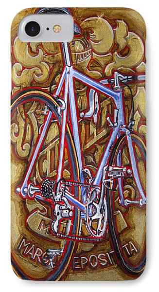 Cinelli Laser Bicycle Phone Case by Mark Howard Jones