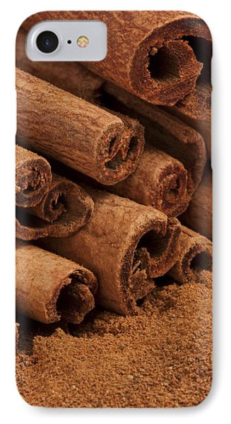 Cinnamon Sticks 2 Phone Case by John Brueske