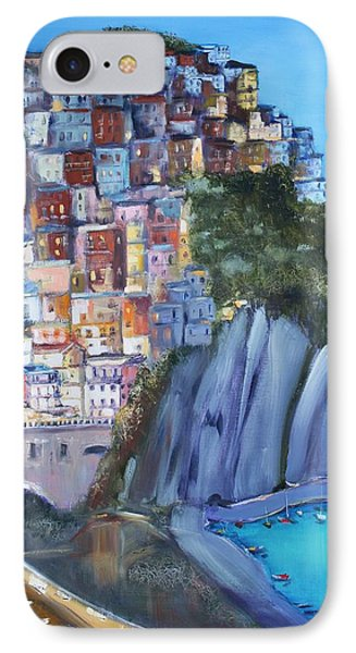 Cinque Terre IPhone Case by Kathy  Karas
