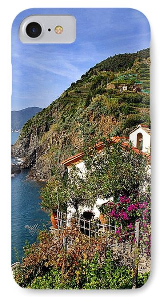 Cinque Terre Seaside IPhone Case by Henry Kowalski