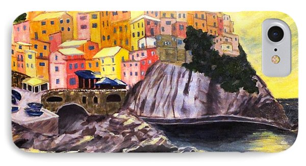 Cinque Terre Sunrise IPhone Case by Diane Arlitt