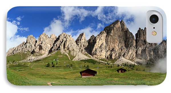 IPhone Case featuring the photograph Cir Group - Gardena Pass by Antonio Scarpi
