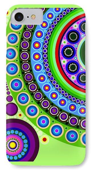 Circle Motif 121 IPhone Case