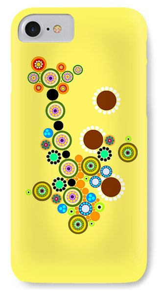 Circle Motif 247 IPhone Case