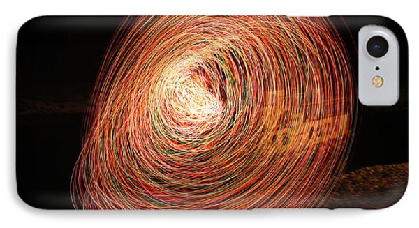 Circle Of Light IPhone Case by Cathie Douglas