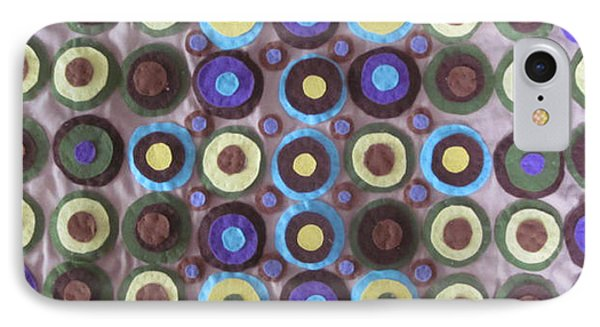 Circles And Dots Phone Case by Cherie Sexsmith