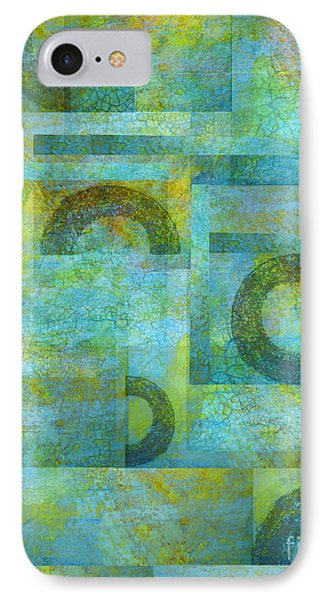Circles And Squares Phone Case by Ann Powell